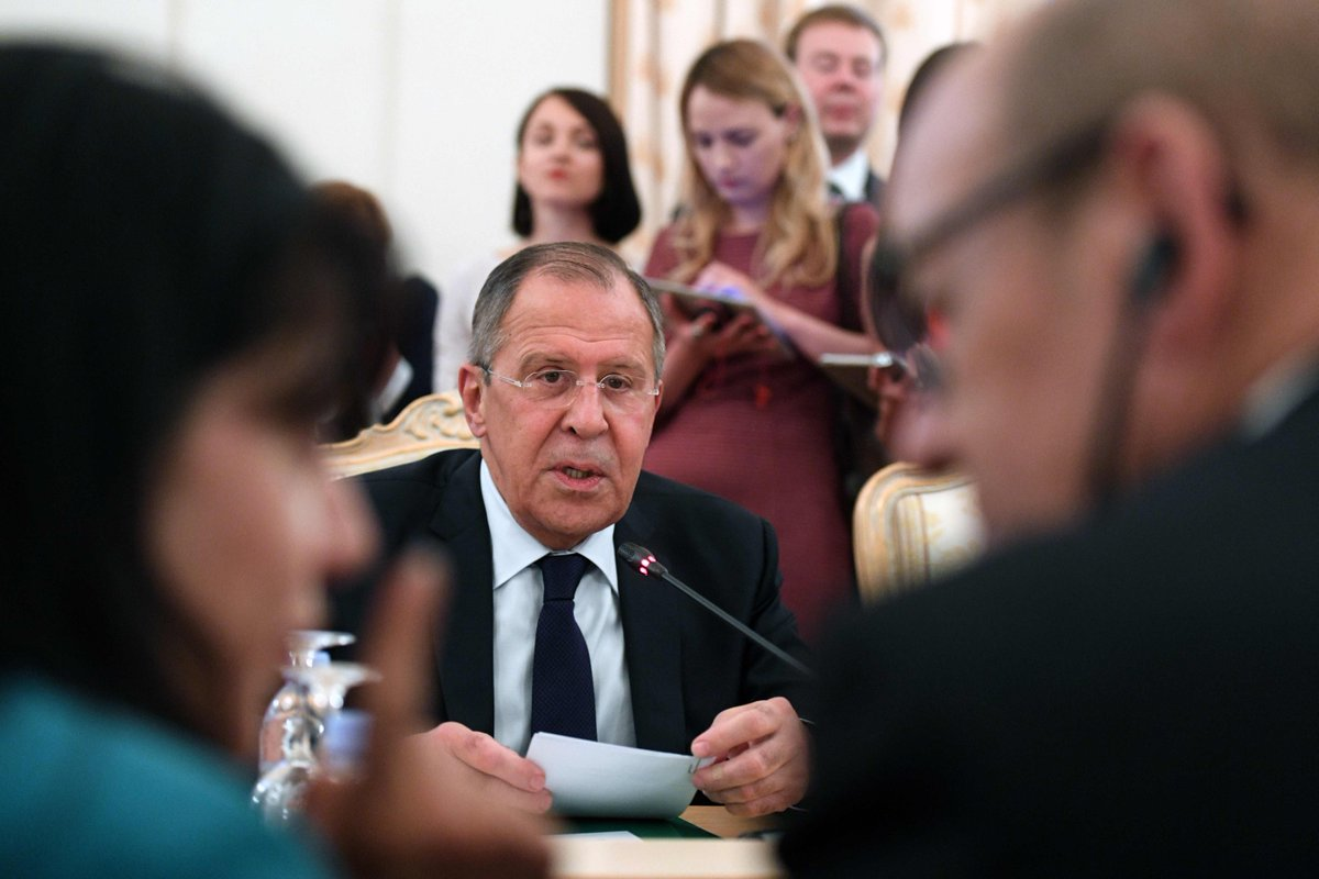 US sanctions against Moscow 'threaten whole relationship': Russian FM