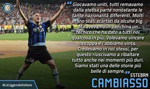 #Cambiasso