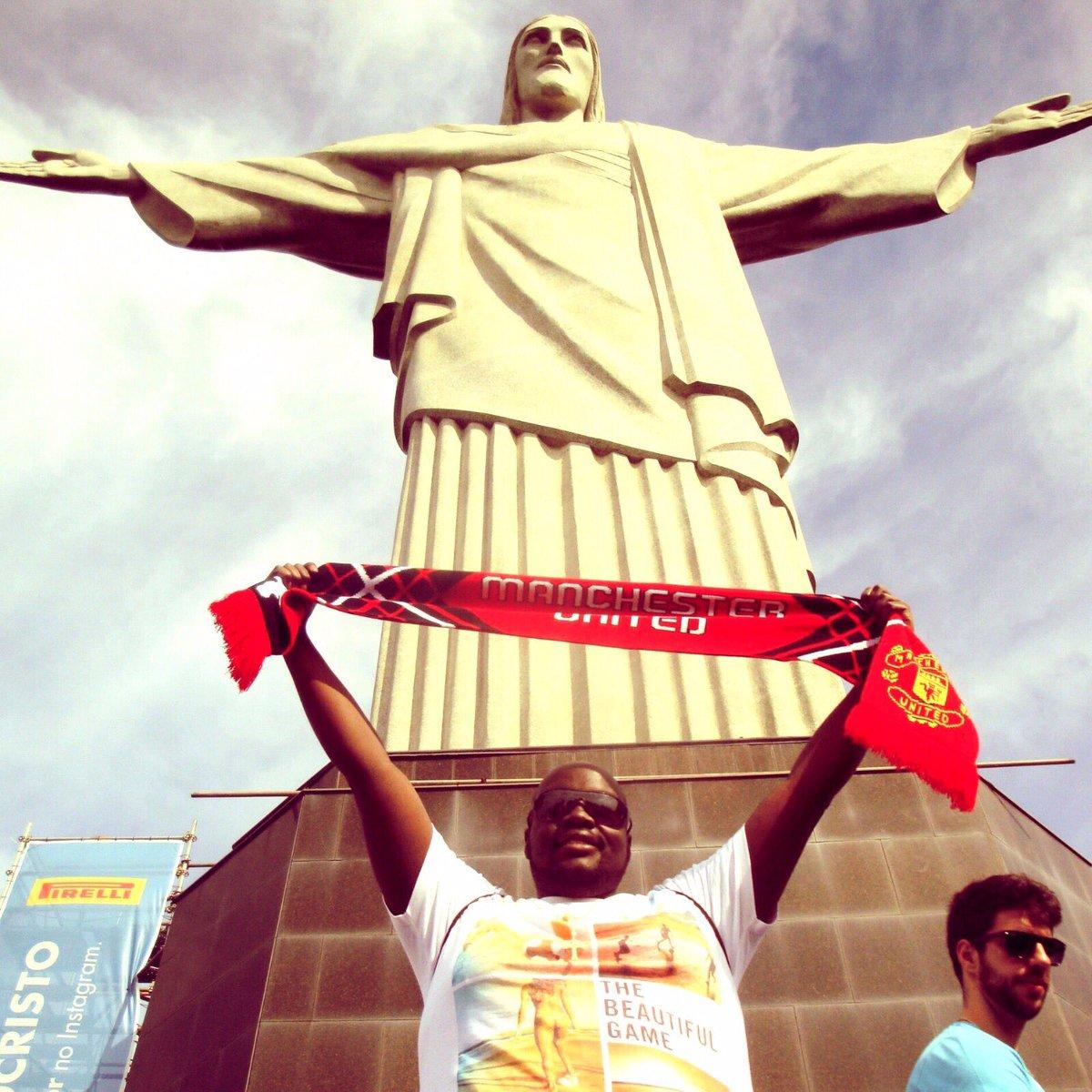 WC2014  #Christtheredeemer #rio #brazil #mufc #tbt https://t.co/bgyGp3rRjK