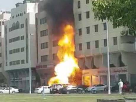 Fire breaks out at four-storey building in Abu Dhabi