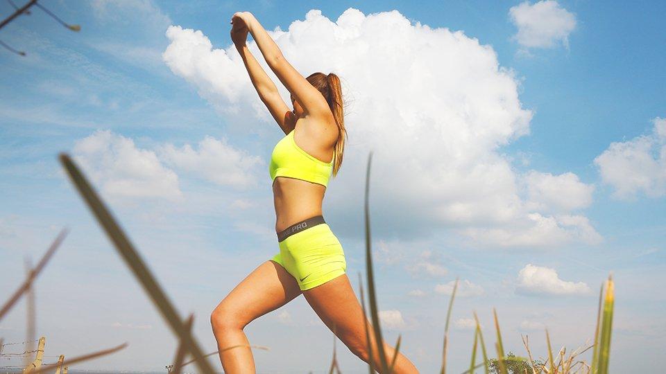 fitness bloggerin
