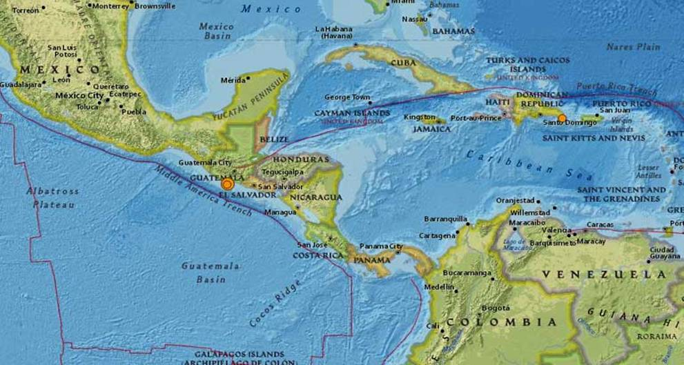 6.8-magnitude quake hits Guatemala, second in eight days: USGS