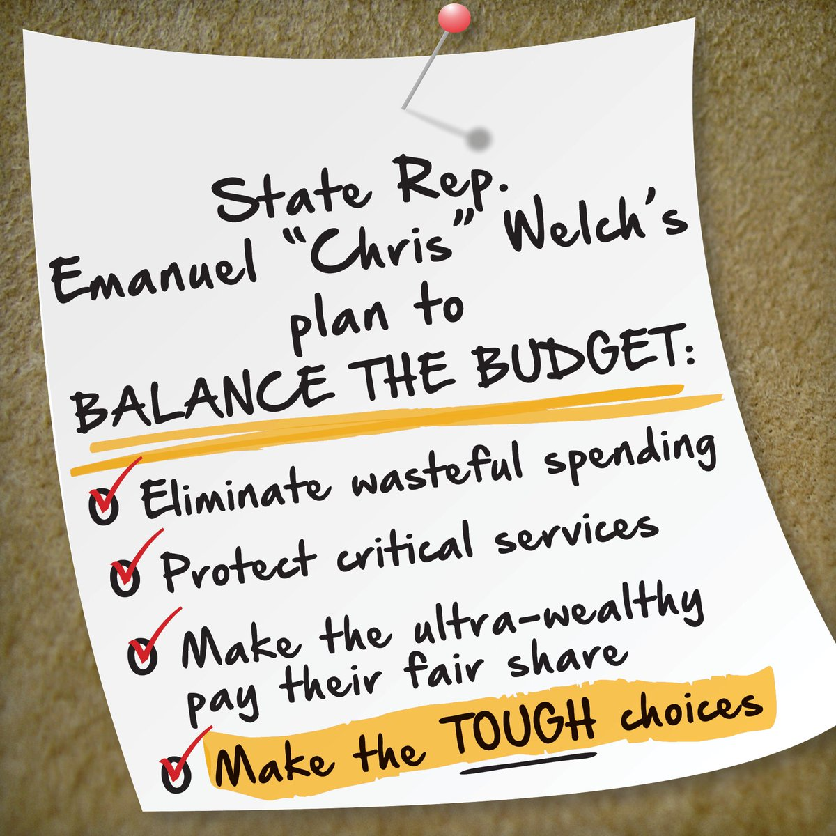 test Twitter Media - I support passing a responsible balanced budget for the State of Illinois.  Here is my plan to get it done!  #budgetnow #closetheloopholes https://t.co/F3FkoZ1dEx