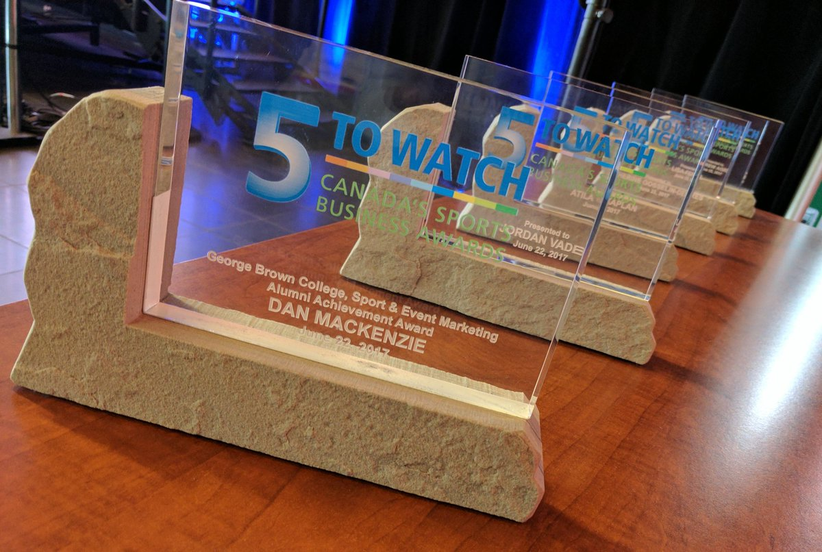 test Twitter Media - RT @5ToWatch: Fancy Hardware! 6 amazing awards await for our 6 outstanding sports business leaders. @GBCollege https://t.co/ghEtHfQUNU