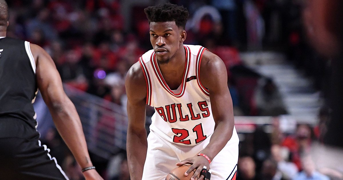 RT @theScore: BREAKING: Wolves reportedly agree to trade for Bulls' Jimmy Butler. https://t.co/NDrg2resDk https://t.co/5xO64JYKns