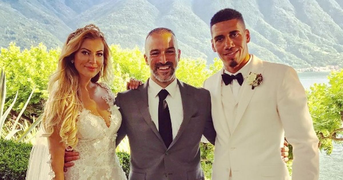 Four Manchester United players attend Chris Smalling's wedding