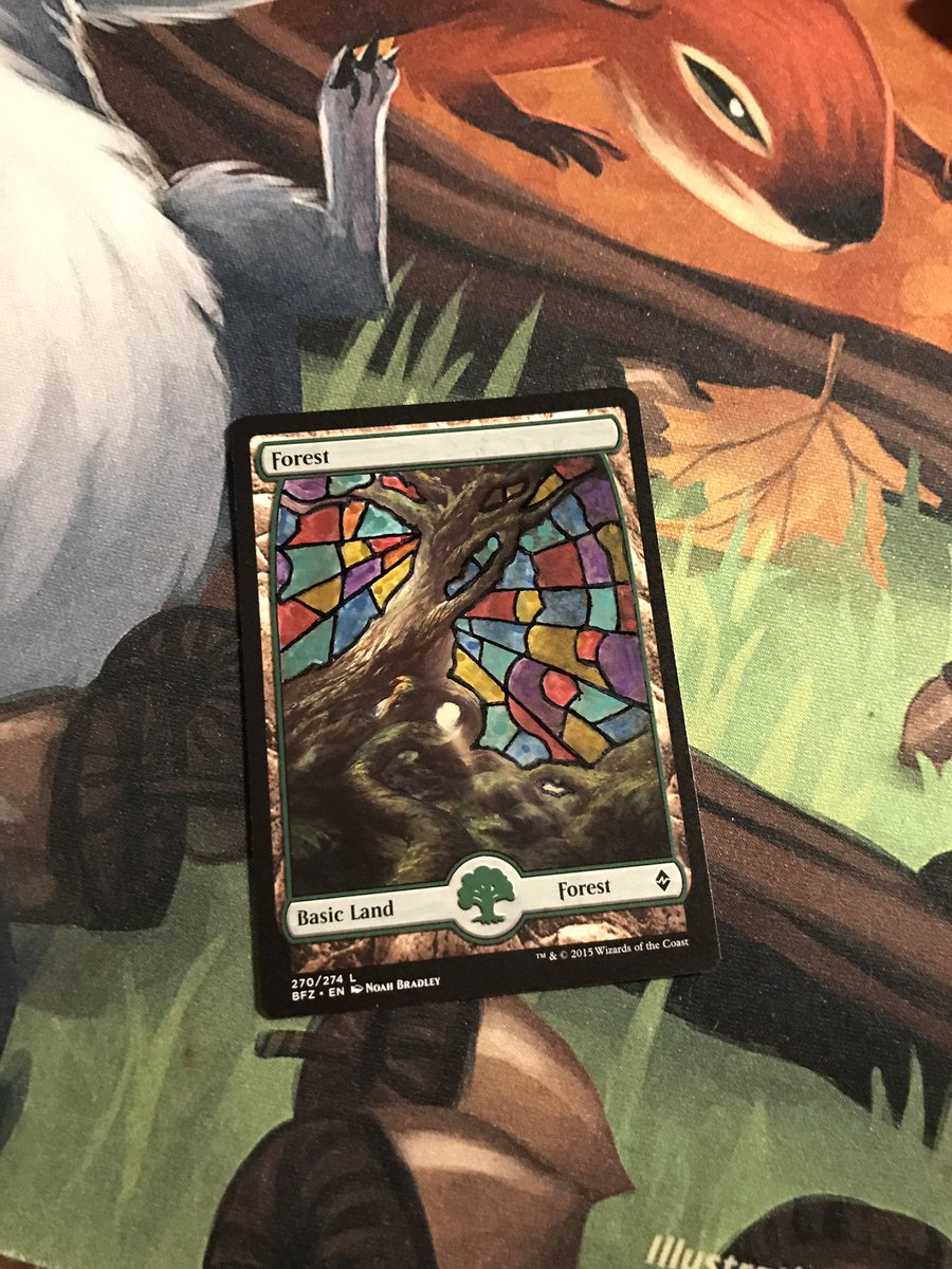test Twitter Media - Board with sharpies pain glass  #CMDR #EDH #MTG https://t.co/sENOfsxvEQ
