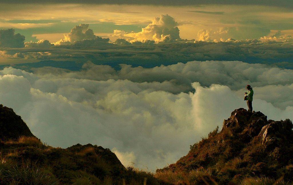 Great photo taken above the clouds... https://t.co/xXsFN79ZXJ https://t.co/b7x47Mtrsn