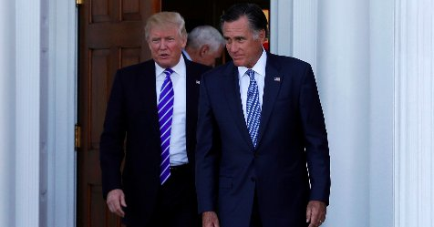 Mitt Romney says Hillary Clinton advised him to take secretary of state job