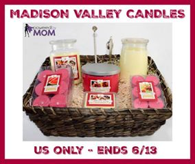 Madison Valley Candles Gift Basket GA ($95.95 arv)-1-US-Ends 6/12