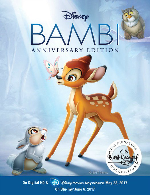 Bambi Anniversary Giveaway