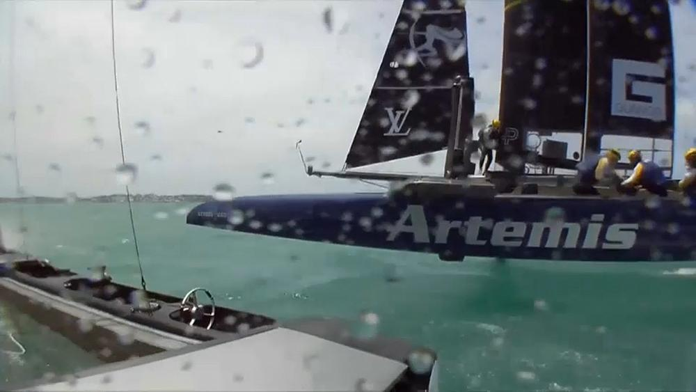 Sweden storm into America's Cup Challenger final