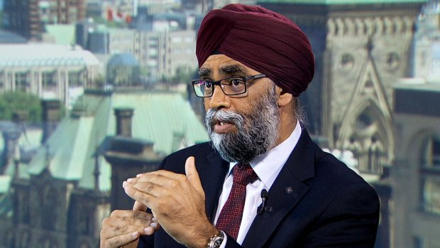 NATO wants Canadians back in Afghanistan: Sajjan