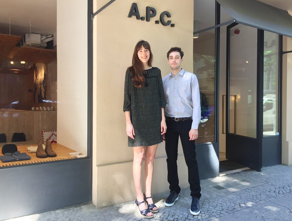 #APC Staff  ベルリン ファザーネン通り店 https://t.co/GvjqM5M3ol