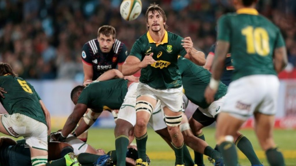 South Africa beat France to regain some pride