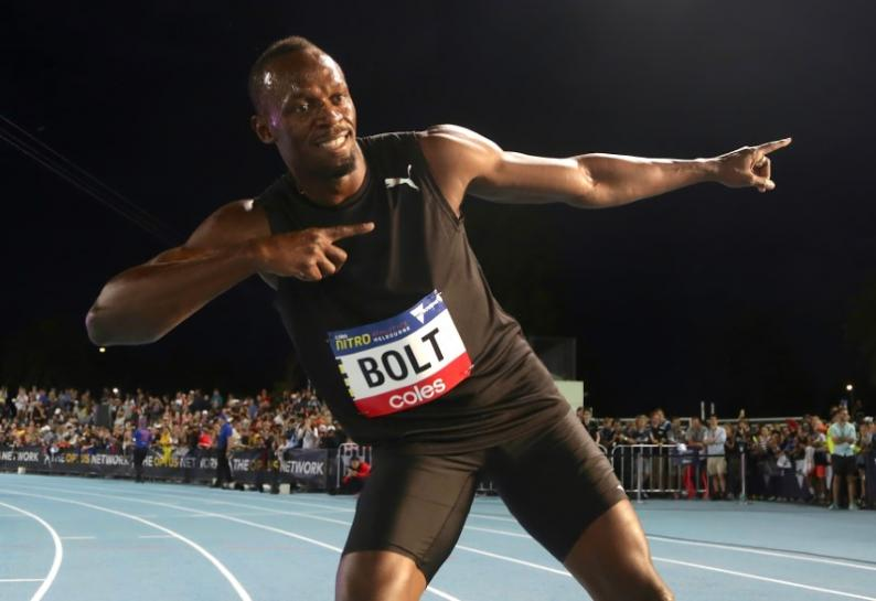 Bolt wins final 100 meters race on home soil