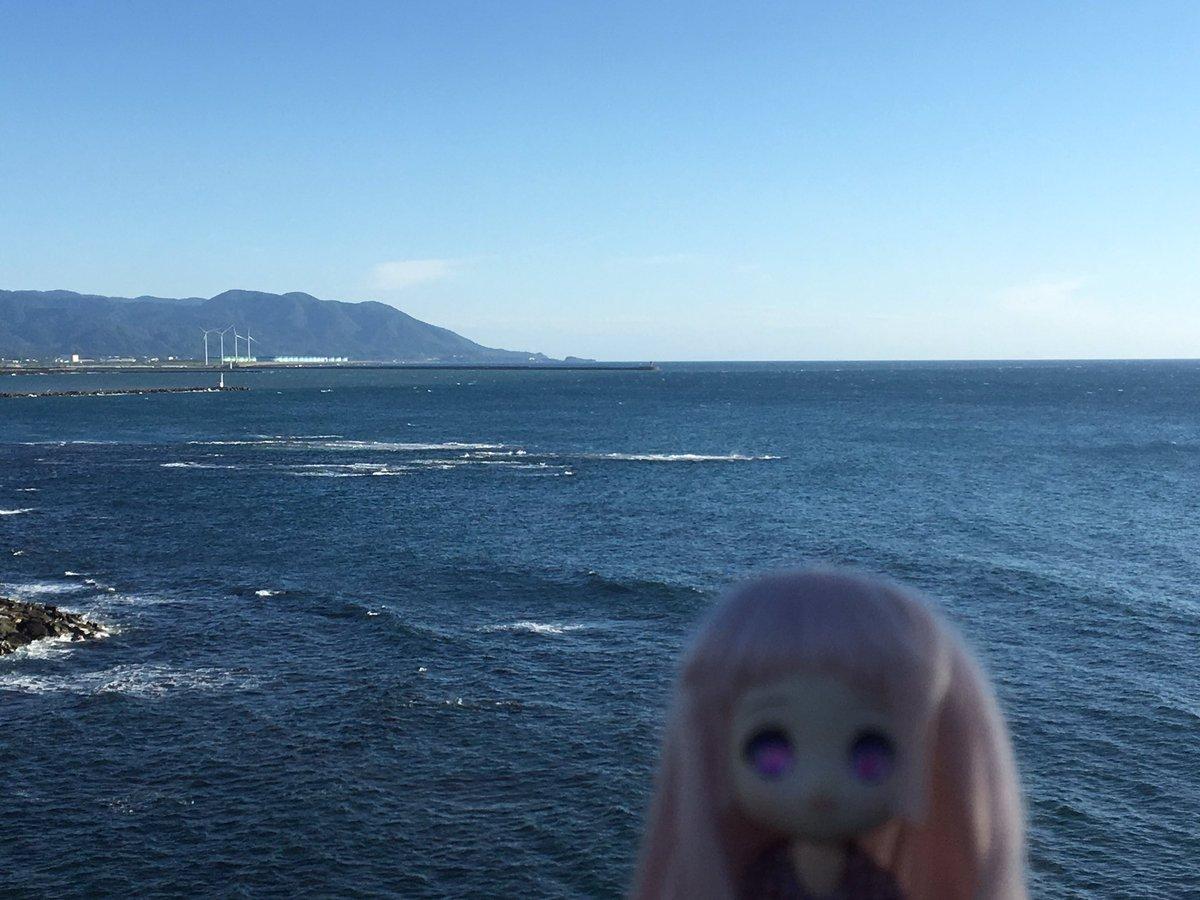 今回の最終目的地、福井県の三国町です(⌒▽⌒)アニメ「グラスリップ」の舞台ですね!