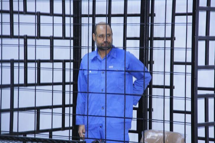 Gaddafi's son said to be freed in Libya, whereabouts unclear: lawyer