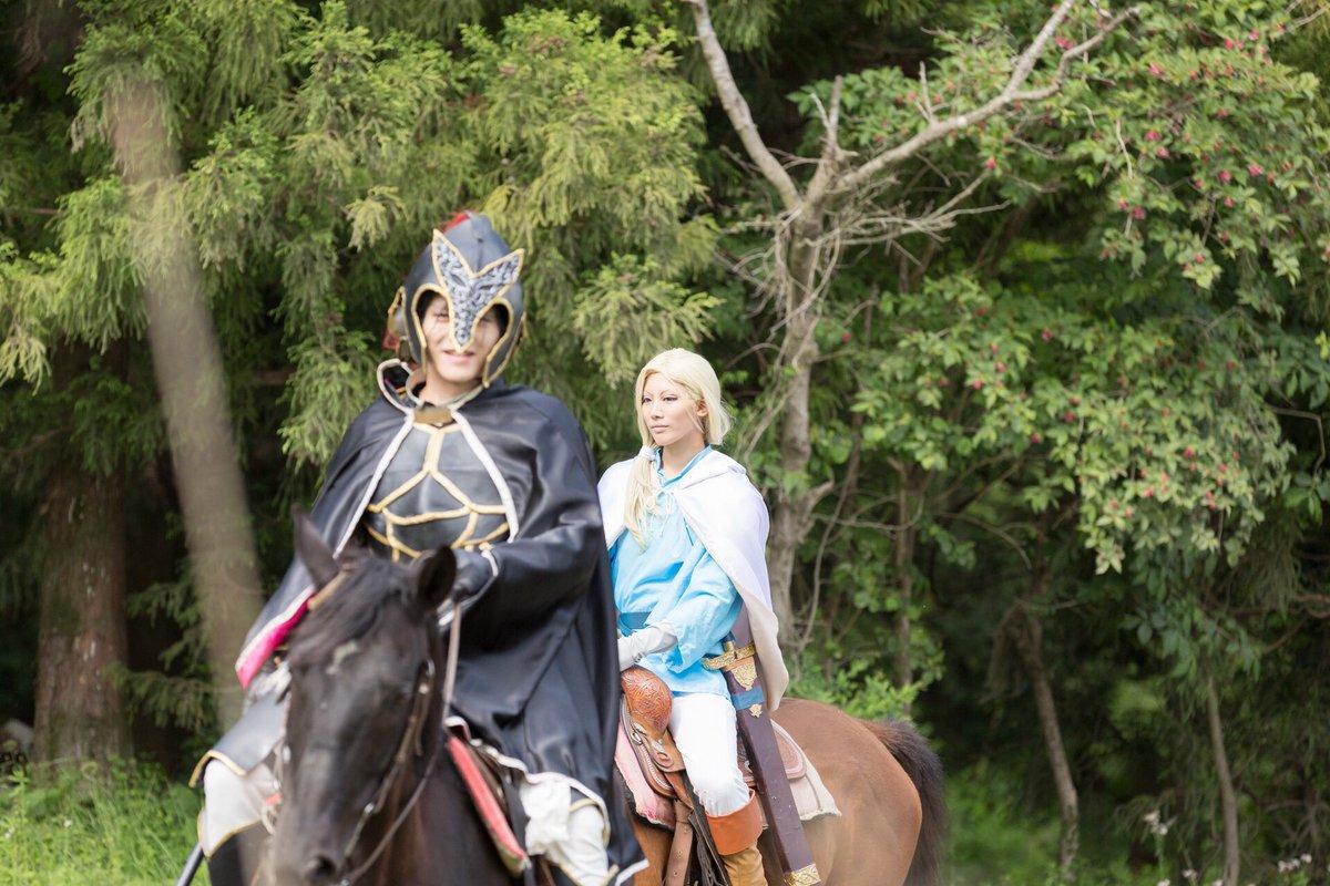 【アルスラーン戦記/馬ロケ】ダリューン→ミツヨシさんphoto→mojoさんロケ→ロッキーさん