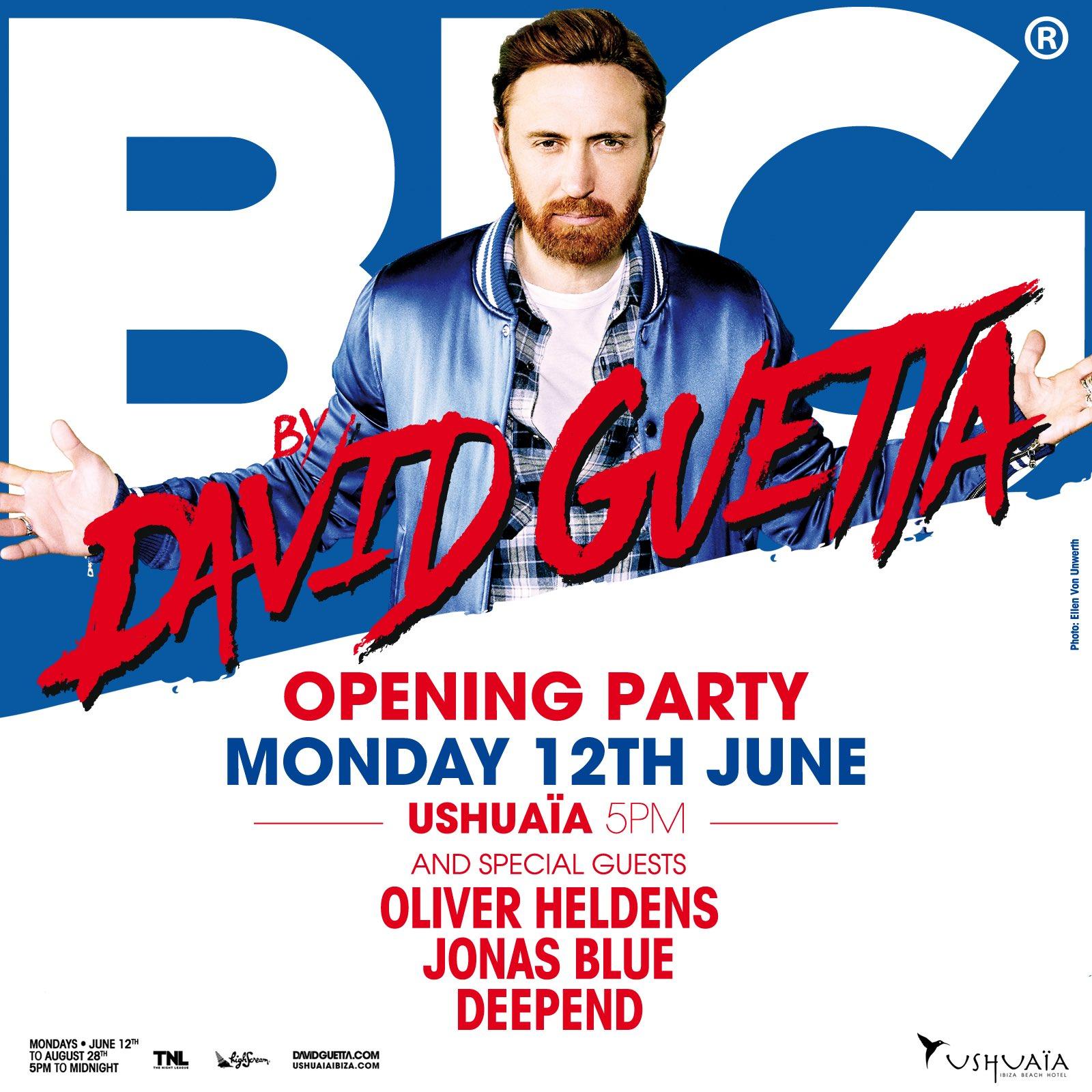 Hey guys @OliverHeldens @JonasBlue @deependmusic, ready for tomorrow ? #ushuaiaibiza #BIGtheparty #OpeningParty https://t.co/qM3VNGkcKN