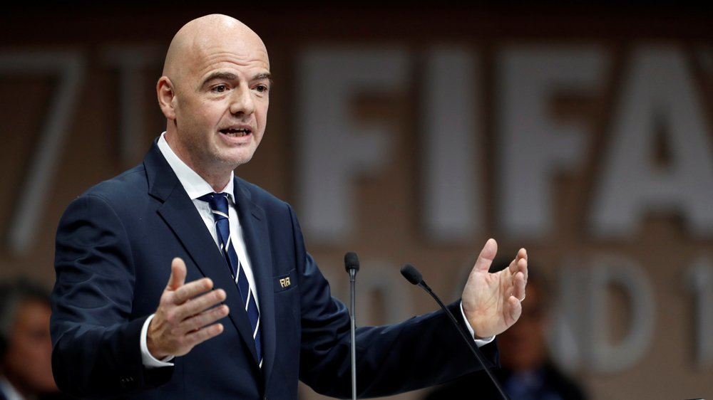 FIFA President Gianni Infantino says Qatar World Cup is not under threat