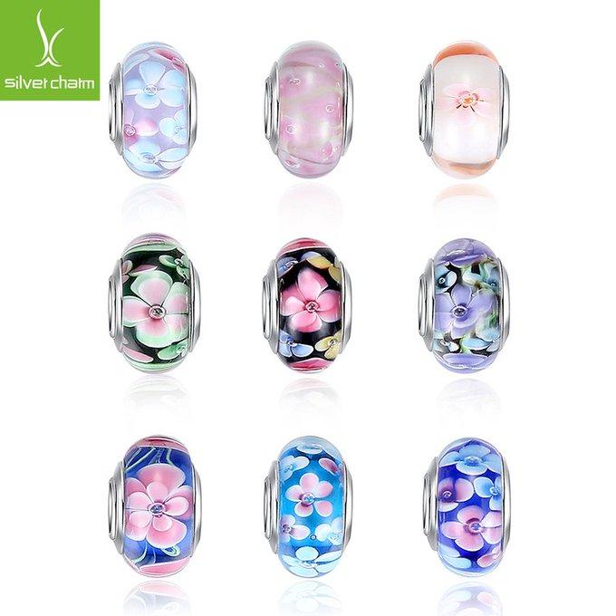 Flower Murano Glass Beads (Pandora compatible)Flower Murano Glass Beads (Pandora compatible) — My Monster Deal