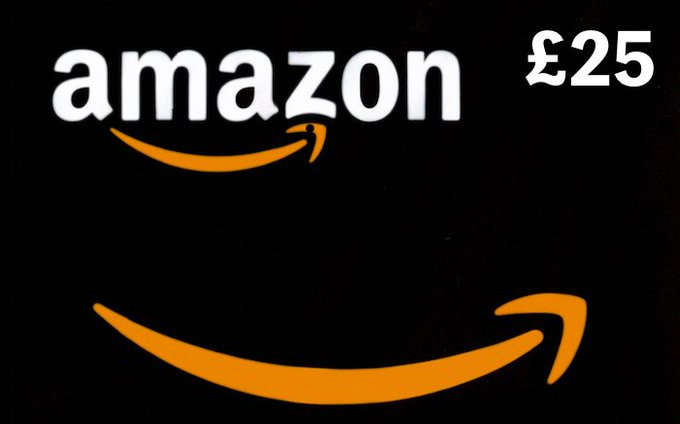 Get a Chance to Win a £25 Amazon Voucher Using Twitter & YouTube