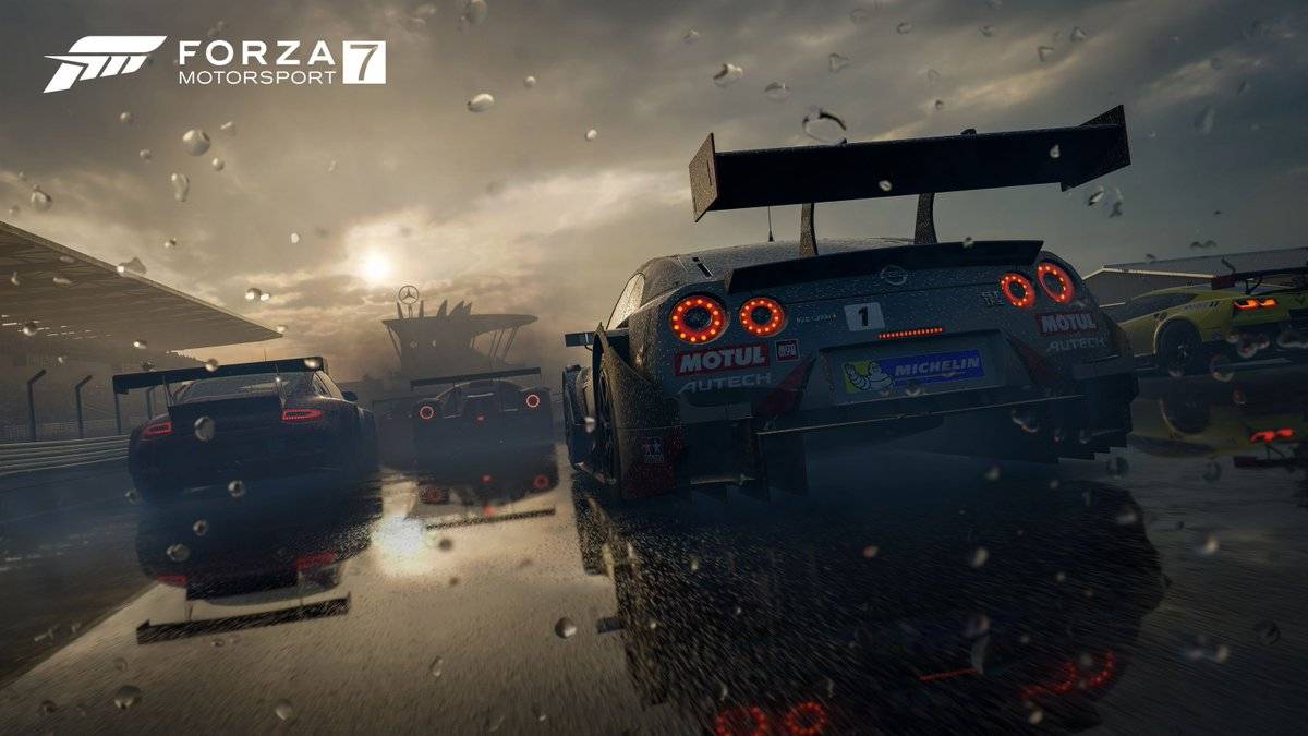 Exclusive Watch 5 Minutes Of Forza 7 Gameplay In 4K At 60 Frames Per Second