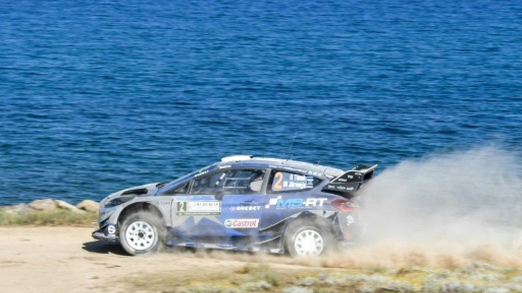 Estonia's Tanak wins in Italy rally