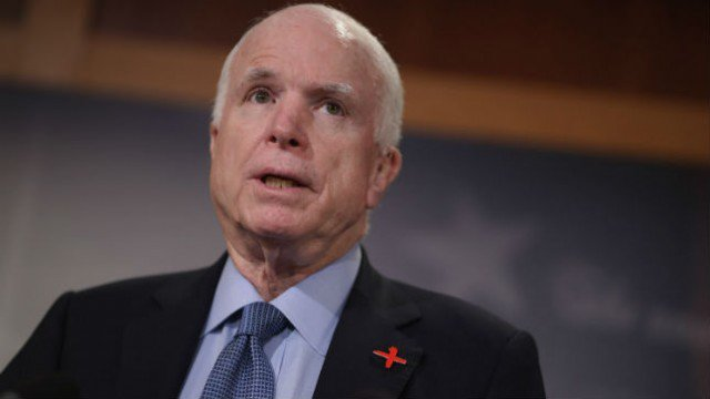 McCain: American leadership was better under Obama https://t.co/y7ionvYuWG https://t.co/QQ2FMusw7Q