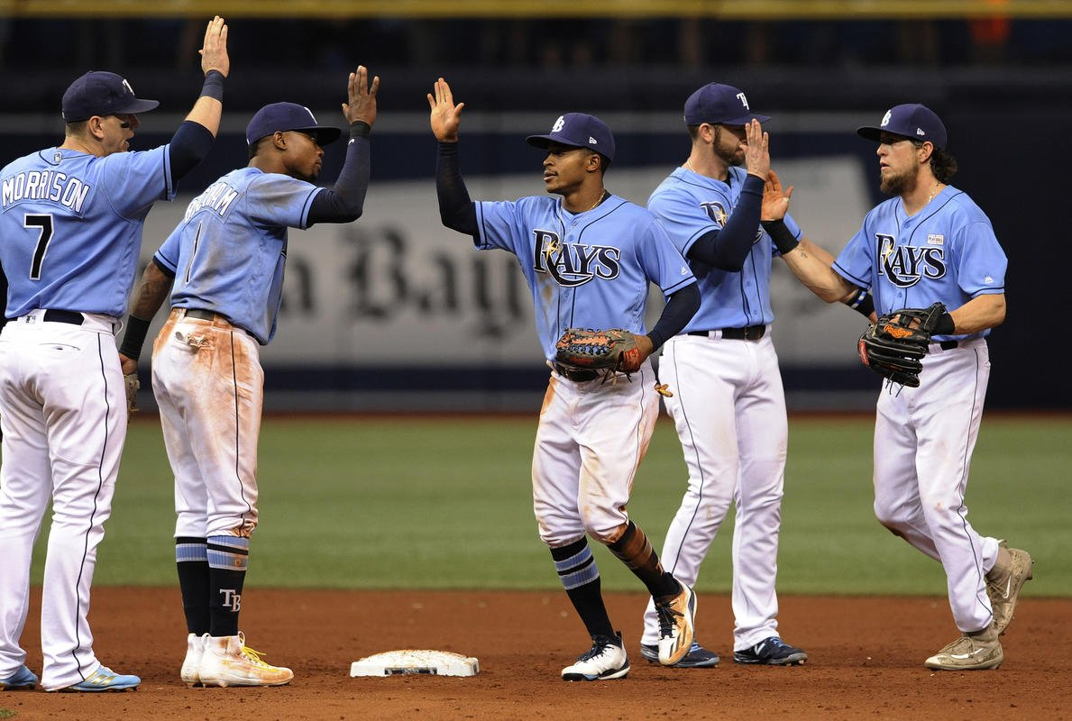 Mallex Smith has 3 hits; Rays beat Athletics 5-4
