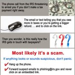 Tax Scams - How to Report Them