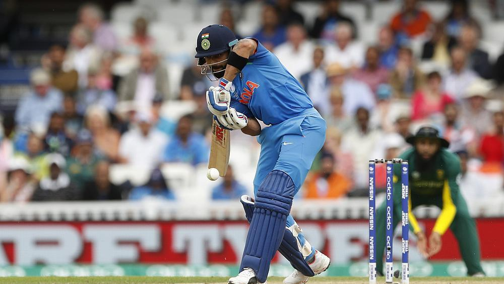India defeat an off colour South Africa in the Champions Trophy