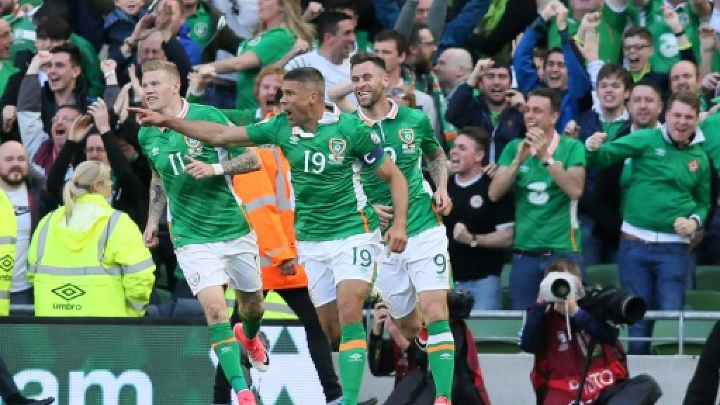 Walters snatches point for Irish against Austria in World Cup qualifier