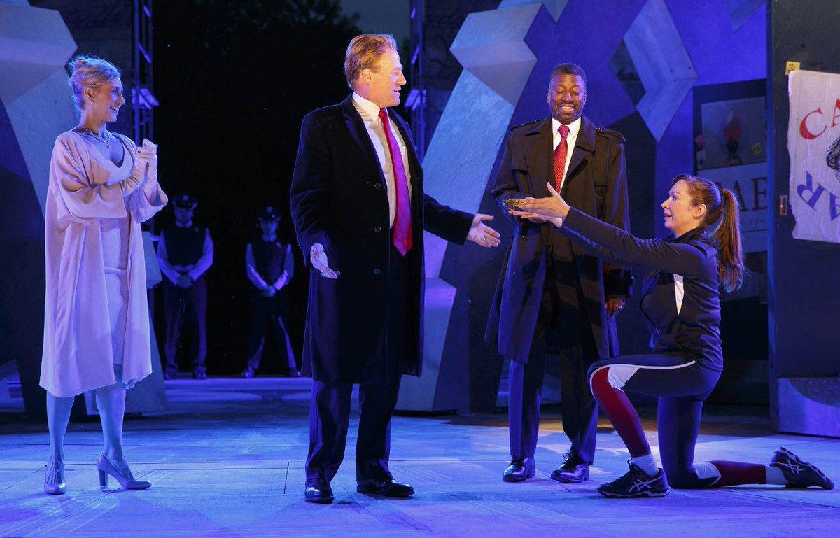 Sponsors flee New York City theater company over Trump-killing scene
