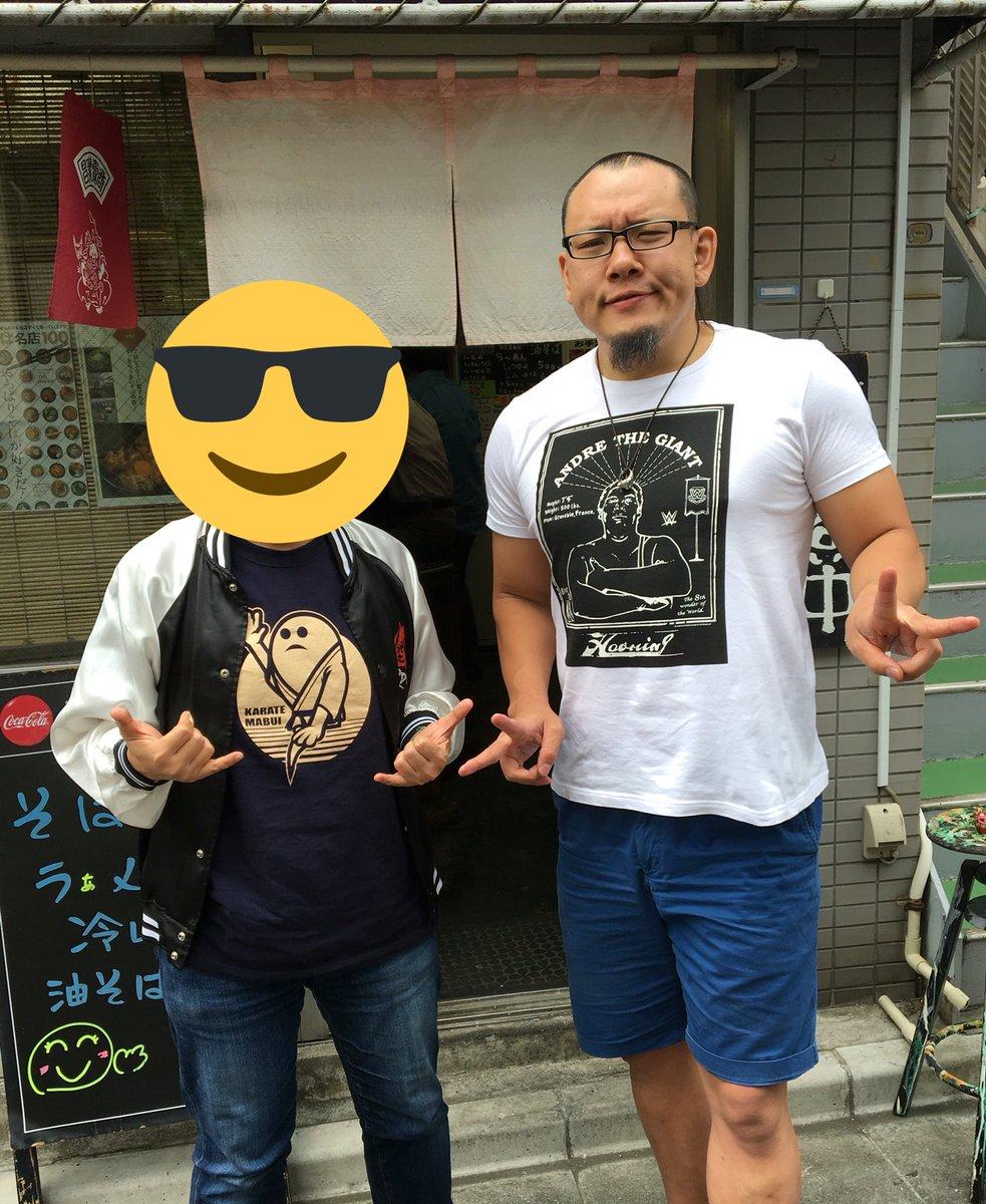 宝そばで、なんと!KAZMA SAKAMOTO選手とお会いしました!写真もありがとうございます!😃デカかったー!!あと、