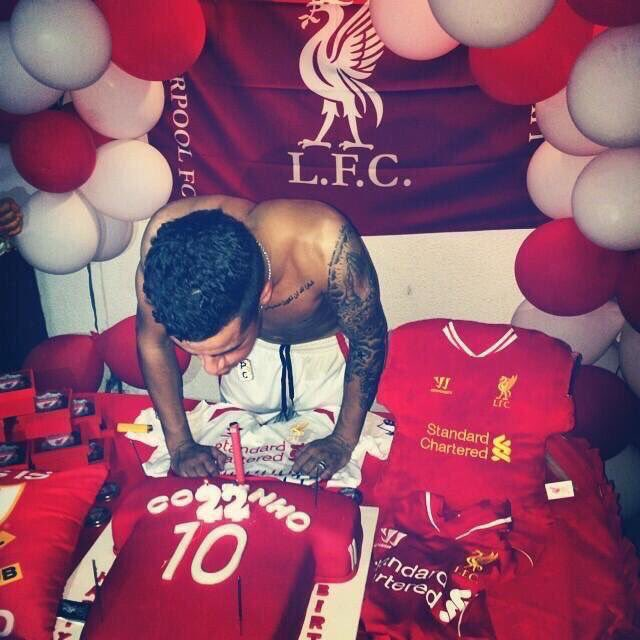 Happy Birthday to our little magician Philippe Coutinho who turns 25 today!