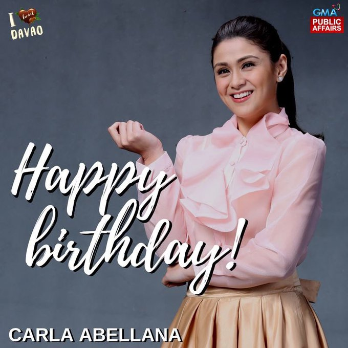 Happy Birthday, Ms. Carla Abellana! message your birthday wishes for her!