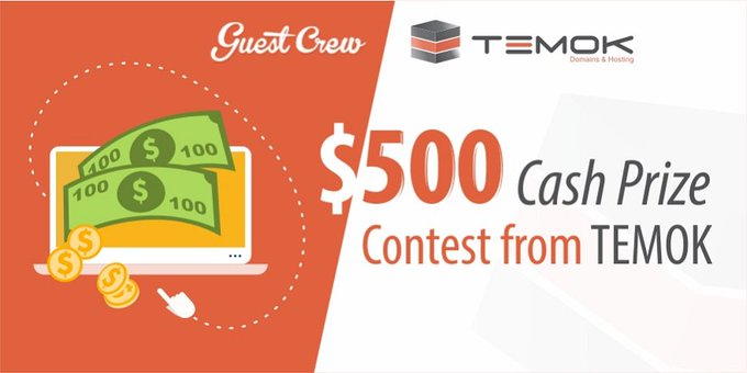 $500 Cash Prize Contest From Temok