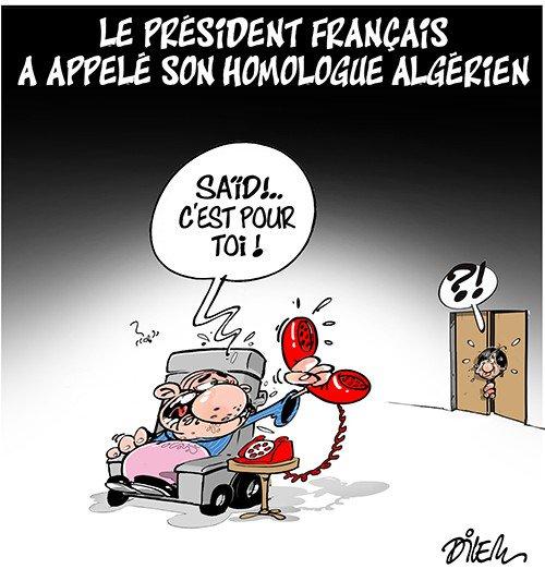 Le président français a appelé son homologue Algérien. https://t.co/27TSawNmnv