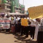 Nurses issued sack notice as strike enters second week