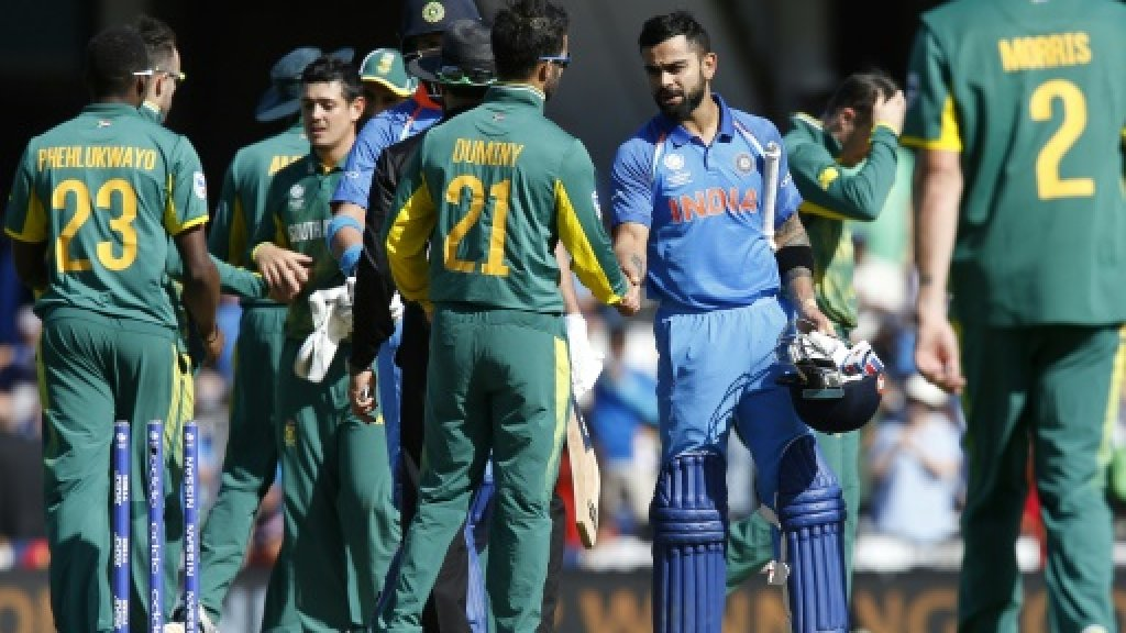 Ruthless India demolish South Africa in Champions Trophy