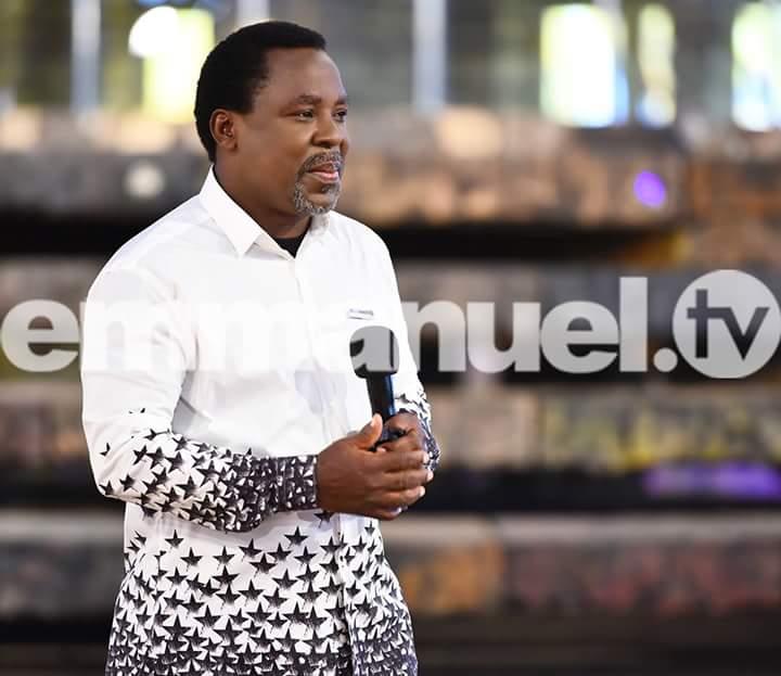 Happy birthday to prophet T. B. Joshua God sent long life we thank God