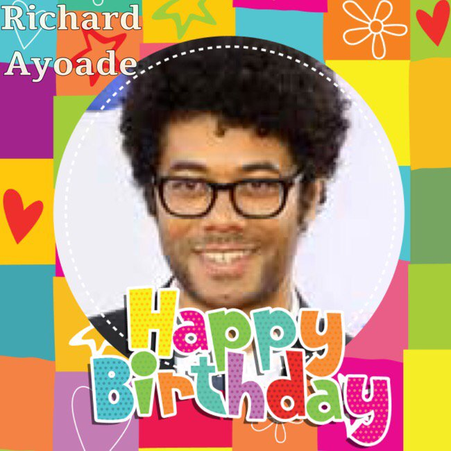Happy Birthday Richard Ayoade, Laura Jones, David Worrall, Sophie Lawrence, Frances O\Connor & Cathy Tyson