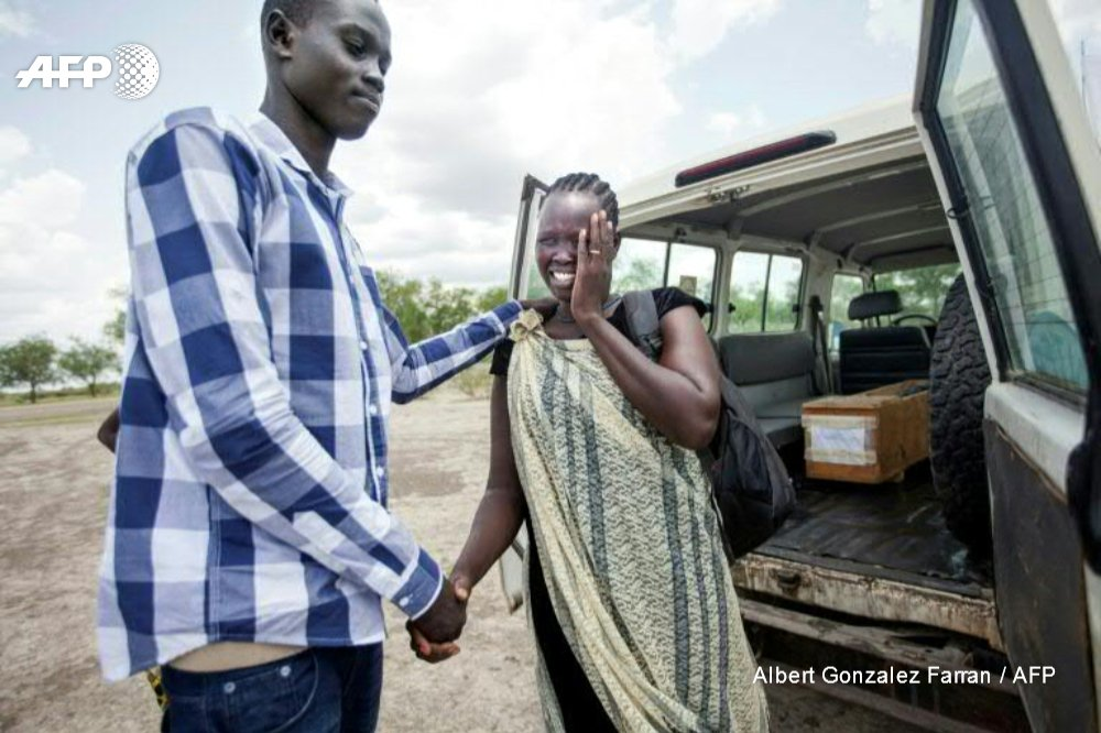 Set adrift in South Sudan's war, a family is reunited