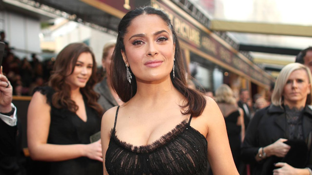 Salma Hayek reveals how Donald Trump allegedly asked her out