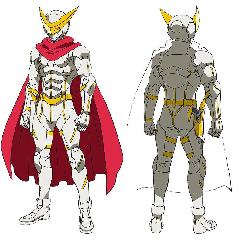 「コンクリート・レボルティオ~超人幻想~」の天弓ナイト作中で一番好きな超人じゃないかなあ ストレートに格好いい