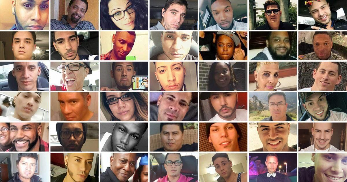 These beautiful faces should still be with us. Let's never forget them. #OrlandoUnitedDay https://t.co/fUl7kjusO5