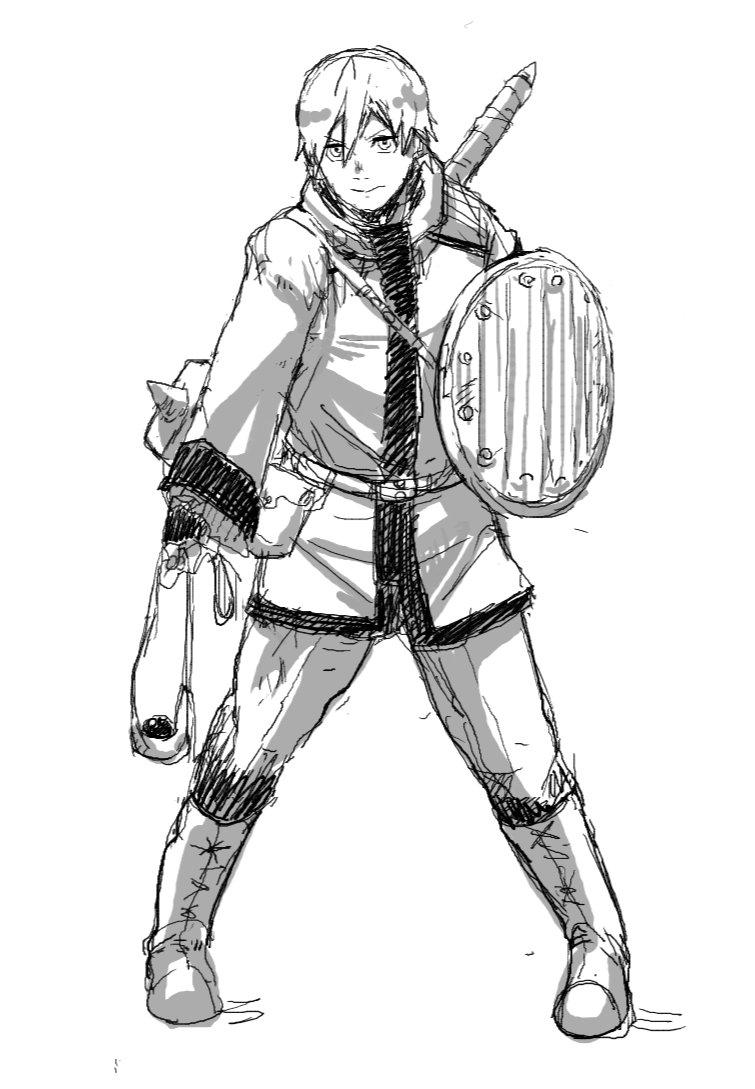 グリムガルのマナト!プリーストは重装備させてスリングで投石させるべしとバルダーズゲートで学んだ