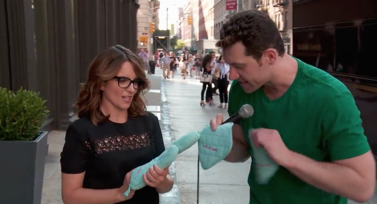 Watch: @BillyEichner enlists Tina Fey, Julianne Moore, John Oliver for wacky prize montage